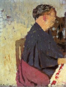 Jean Edouard Vuillard - My Mother