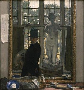 William Newenham Montague Orpen - Myself and Venus