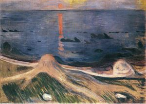 Edvard Munch - The Mystery of a Summer Night