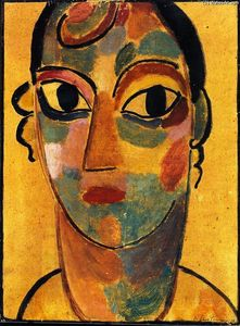 Alexej Georgewitsch Von Jawlensky - Mystical Head: Girl from Ascona