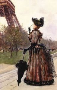 Jean Georges Béraud - Near the Eiffel Tower