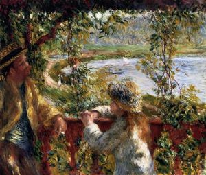 Pierre-Auguste Renoir - Near the Lake