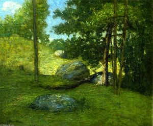 Julian Alden Weir - New England Meadow