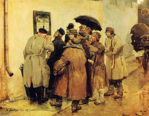 Victor Vasnetsov - News from the Front