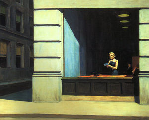 Edward Hopper - New York Office