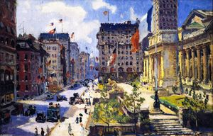 Colin Campbell Cooper - New York Public LIbrary