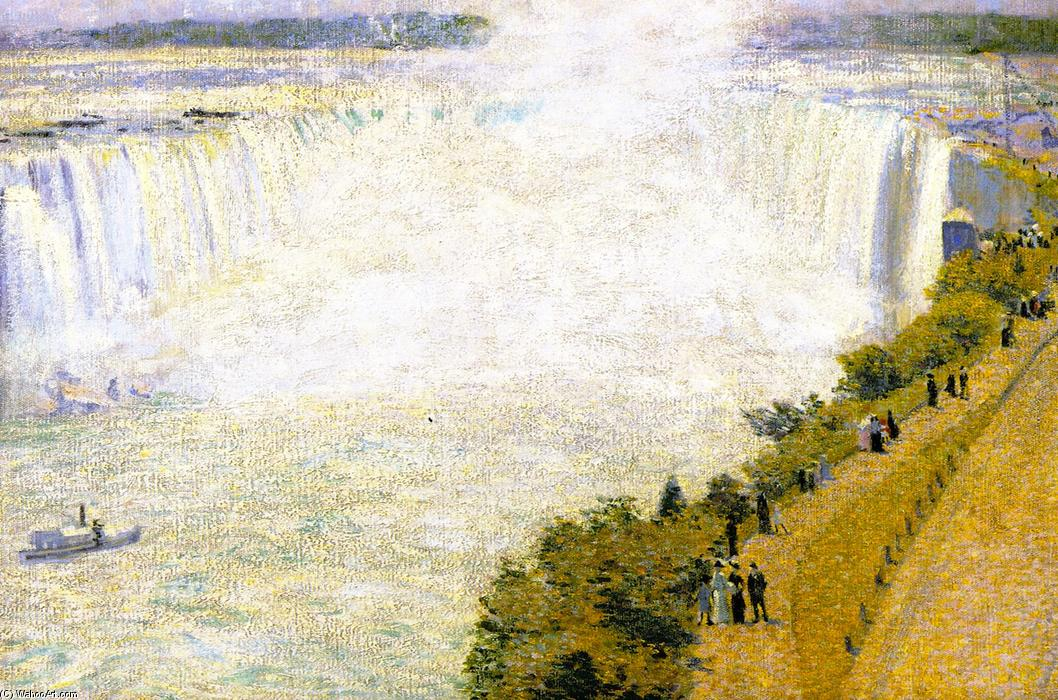 Niagara Falls I, Oil On Canvas by Phillip Leslie Hale (1865-1931, United States)