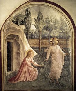 Fra Angelico - Noli Me Tangere (Convento di San Marco, Florence)