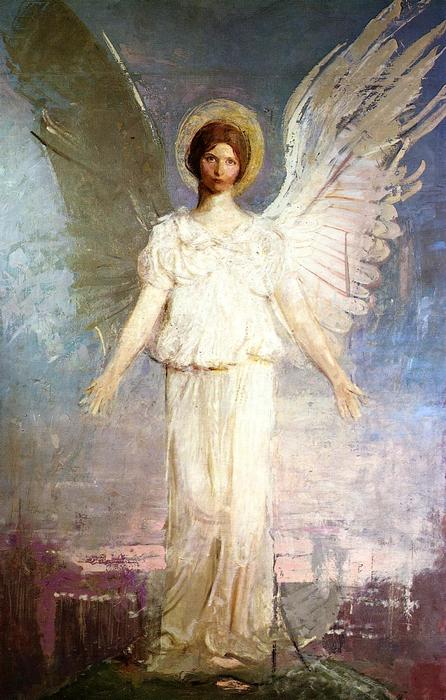 Noon, 1920 by Abbott Handerson Thayer (1849-1921, United States) | Art Reproduction | WahooArt.com