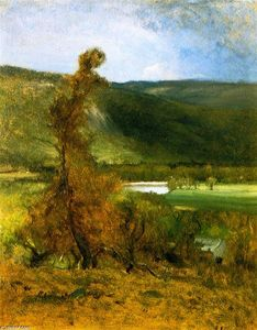 George Inness - North Conway, White Horse Ledge