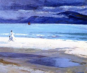 Francis Campbell Boileau Cadell - The North End, Iona