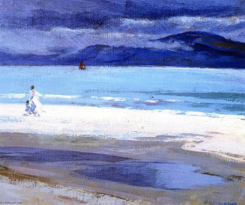 The North End, Iona, Oil On Canvas by Francis Campbell Boileau Cadell (1883-1937)