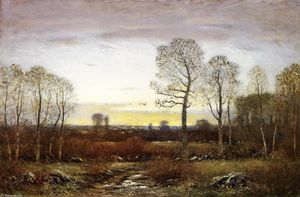 Dwight William Tryon - November Evening