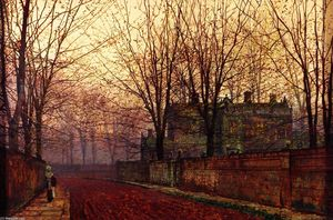 John Atkinson Grimshaw - November Morning