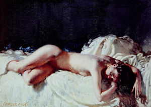 William Newenham Montague Orpen - Nude Study
