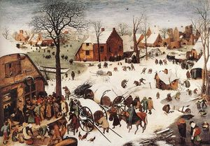Pieter Bruegel The Elder - The Numbering at Bethlehem