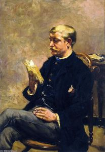 Theo Van Rysselberghe - Octave Maus Reading