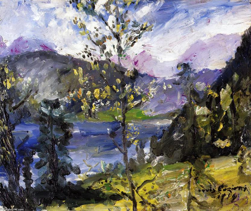 October Show at the Walchensee, Painting by Lovis Corinth (Franz Heinrich Louis) (1858-1925, Netherlands)