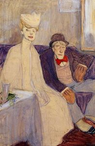 Julius Mordecai Pincas - Odd Couple in a Waiting Room