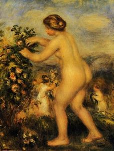 Pierre-Auguste Renoir - Ode to Flowers (after Anacreon)