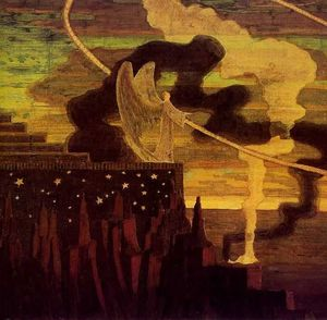 Mikalojus Konstantinas Ciurlionis - The Offering