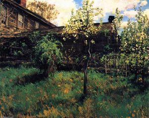 Frederick Childe Hassam - Old House, Dorchester