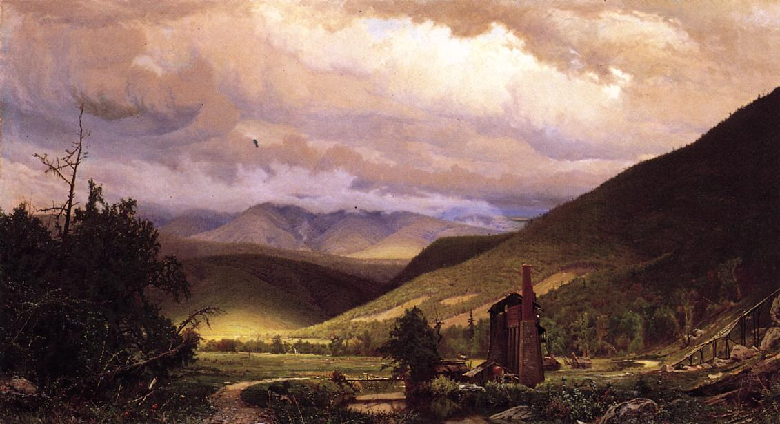 Old Smelter, 1870 by Hugh Bolton Jones (1848-1927) | Painting Copy | WahooArt.com