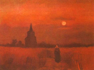 Vincent Van Gogh - The Old Tower in the Fields