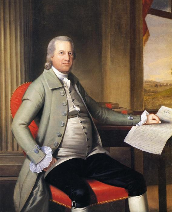 Oliver Wolcott, 1789 by Ralph Earl (1751-1801, United States) | Painting Copy | WahooArt.com
