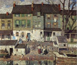 Robert Spencer - On the Canal, New Hope
