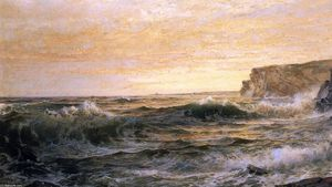 William Trost Richards - On the Maine Coast