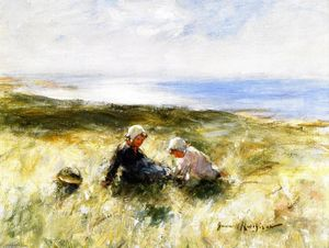 Robert Gemmell Hutchison - On the Sands, Carnoustie