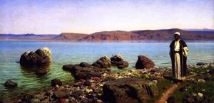 Vasily Polenov - On the Sea of Tiberias (Galilee)