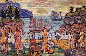 Maurice Brazil Prendergast - On the Shore