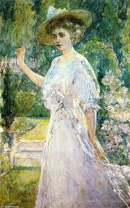 Robert Lewis Reid - On the Terrace