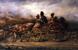Edward Lamson Henry - On the Way to Market