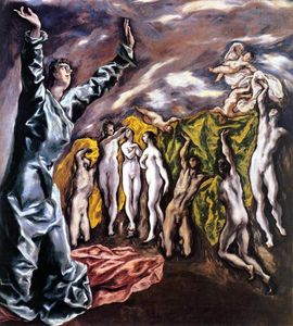 El Greco (Doménikos Theotokopoulos) - The Opening of the Fifth Seal (The Vision of St John)