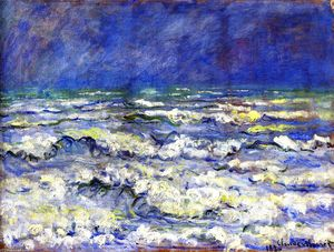 Claude Monet - Open Sea, Stormy Weather