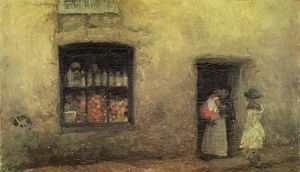James Abbott Mcneill Whistler - An Orange NOte: Sweet Shop
