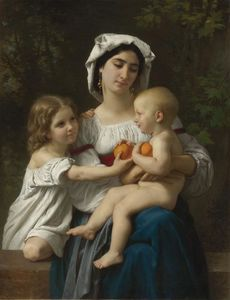 William Adolphe Bouguereau - The Oranges