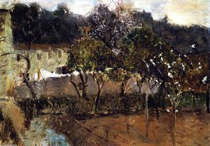 John Singer Sargent - Orange Trees, Nice