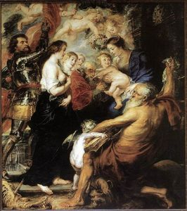 Peter Paul Rubens - Our Lady with the Saints