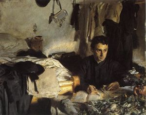 John Singer Sargent - Padre Sebastiano (also known as Padre Albera)