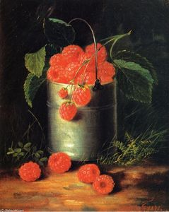 George Forster - A Pail of Raspberries
