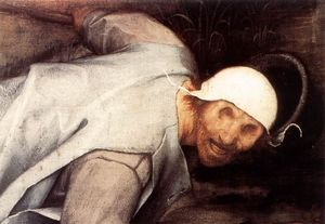 Pieter Bruegel The Elder - The Parable of the Blind Leading the Blind (detail)