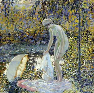 Frederick Carl Frieseke - The Parasol