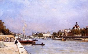 Stanislas Lepine - Paris, the Pont des Arts