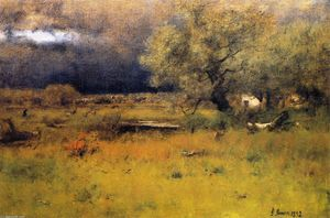 George Inness - The Passing Storm