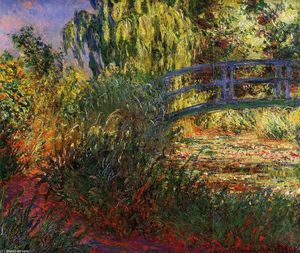 Claude Monet - Path along the Water-Lily Pond