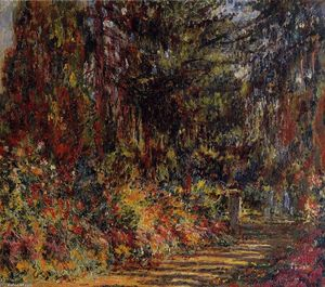 Claude Monet - The Path at Giverny